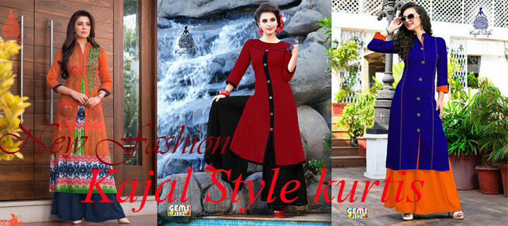 New Fashion Kajal Style Kurtis Online Shopping India
