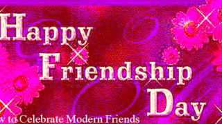 Happy Friendship Day 2017 and How to Celebrate Modern Generation Friendship Day
