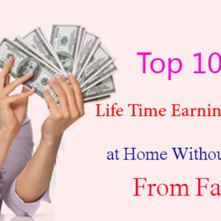Top 10 Ideas for Life Time Earning Money Online at Home Without Investment