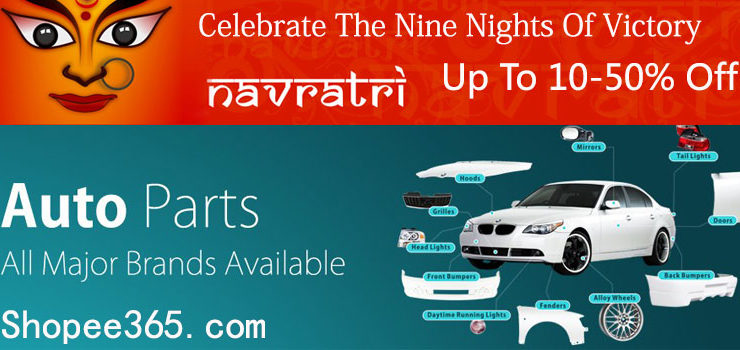 Durga Utsav Navratri Discount Offers On Auto Parts Online Store India on Shopee365