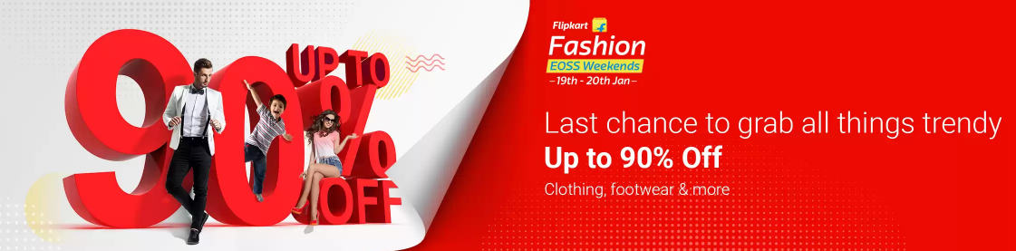 Fashion Clothes Sale For Republic Days Sale Offer Up tO 90% Off