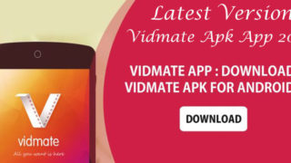 Vidmate APK App Download Install Latest Version 2018-2019