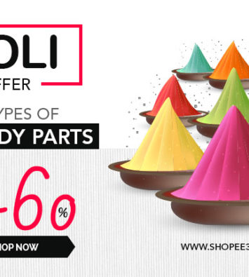 Shopee365 Holi Festival Dubble Dhamaka Offers Upto 50 Percent Off On Car Parts Online