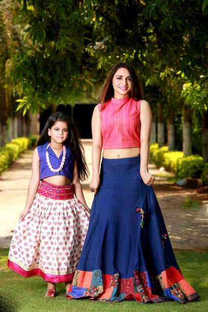 Mother and Daughter Combo Chaniya Choli