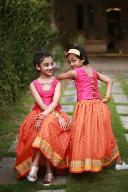 Twins Navaratri Chaniya Choli