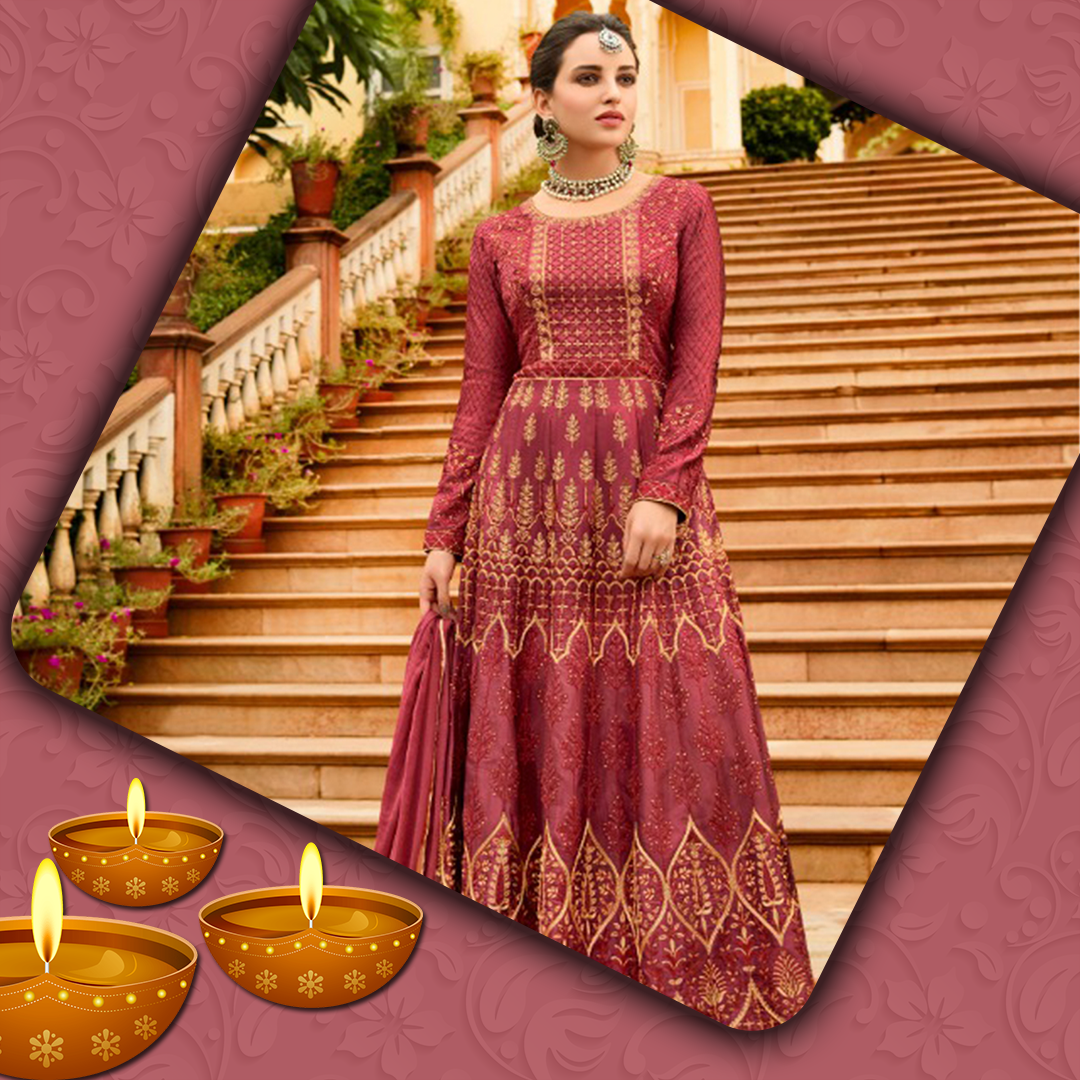 Indo western Gown Online For Diwali