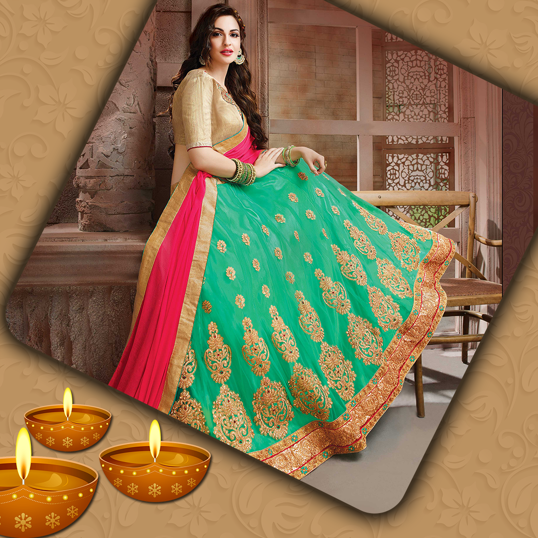Traditional lehenga choli for festivals