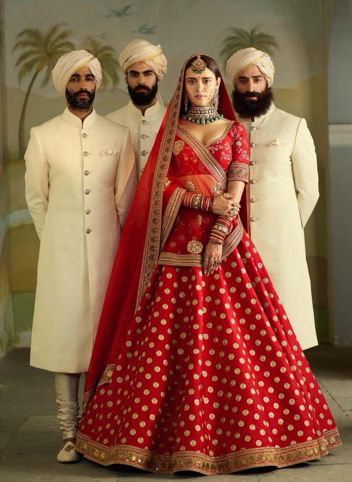 Sabyasachi Lehenga Choli Online Collection with Low Cost