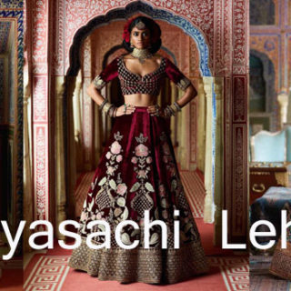Sabyasachi Designer Bridal Lehenga Cholis online at low prices. Sabyasachi Designer Bridal Lehenga Cholis Online Collection at best prices with discount prices. Shop Now Latest new launched designer lehenga 2018-2019.