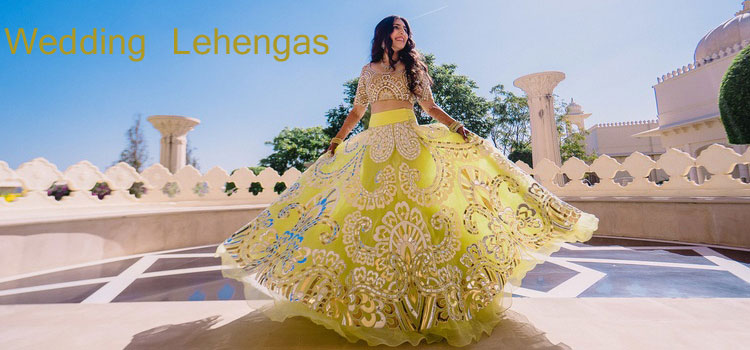 Indian Wedding Lehengas On Fashionsky