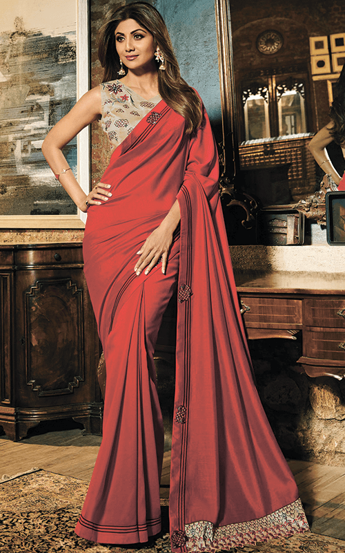 Bollywood Actress Designer Sarees Online