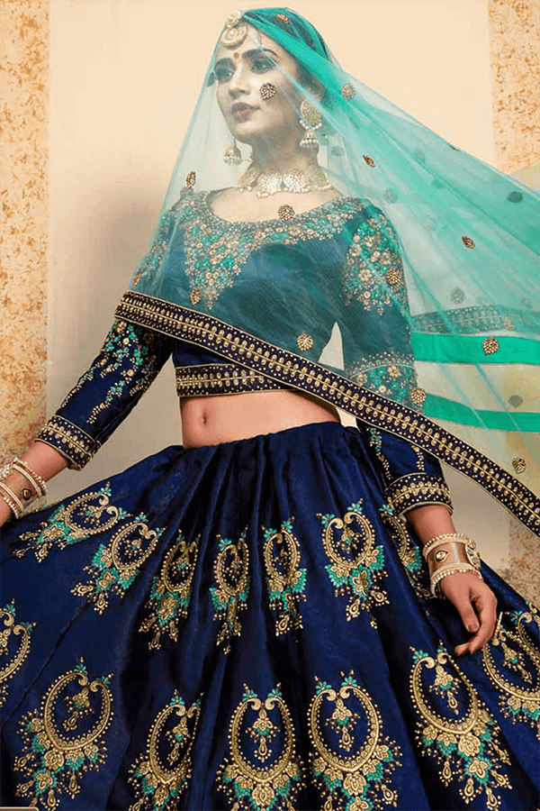Bridal Wear Indian Lehenga Choli Online 2019-2020
