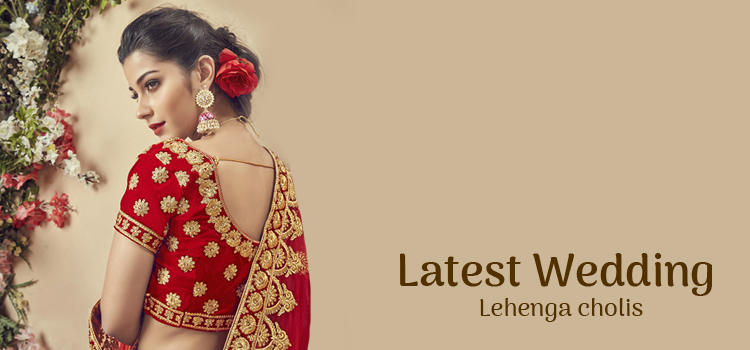 Latest Wedding Bridal Lehenga Cholis Online 2019-2020