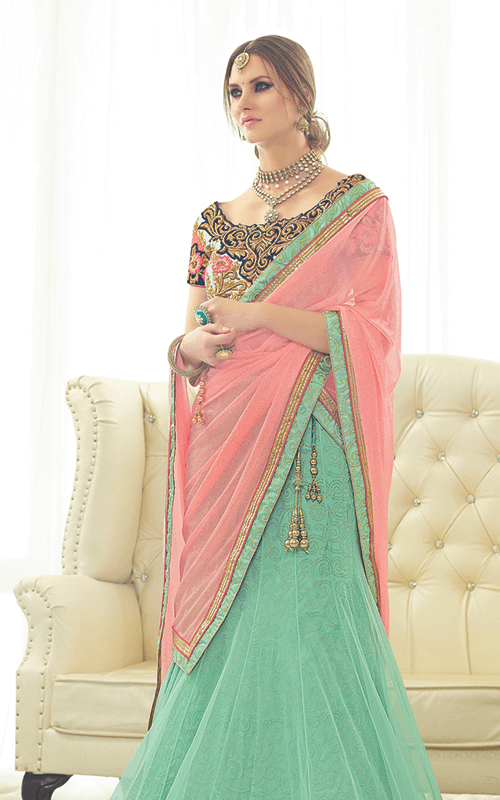 Lehenga Style Sarees for Wedding