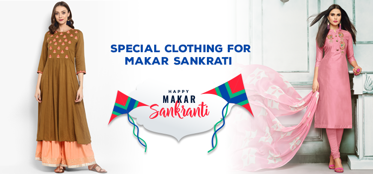 Pomp and Splendor Kite Festival Makar Sankranti and Girls Fashion Dress Code and Where Celebrate India On Fashionsky