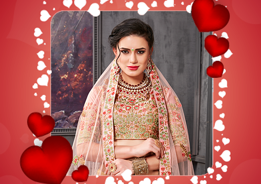 Valentine Day Lehenga Choli Gifts For Wife and Friends