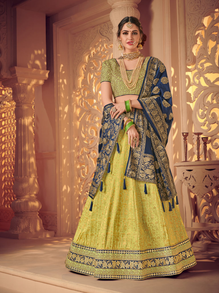 Buy latest new design bridal lehenga choli online