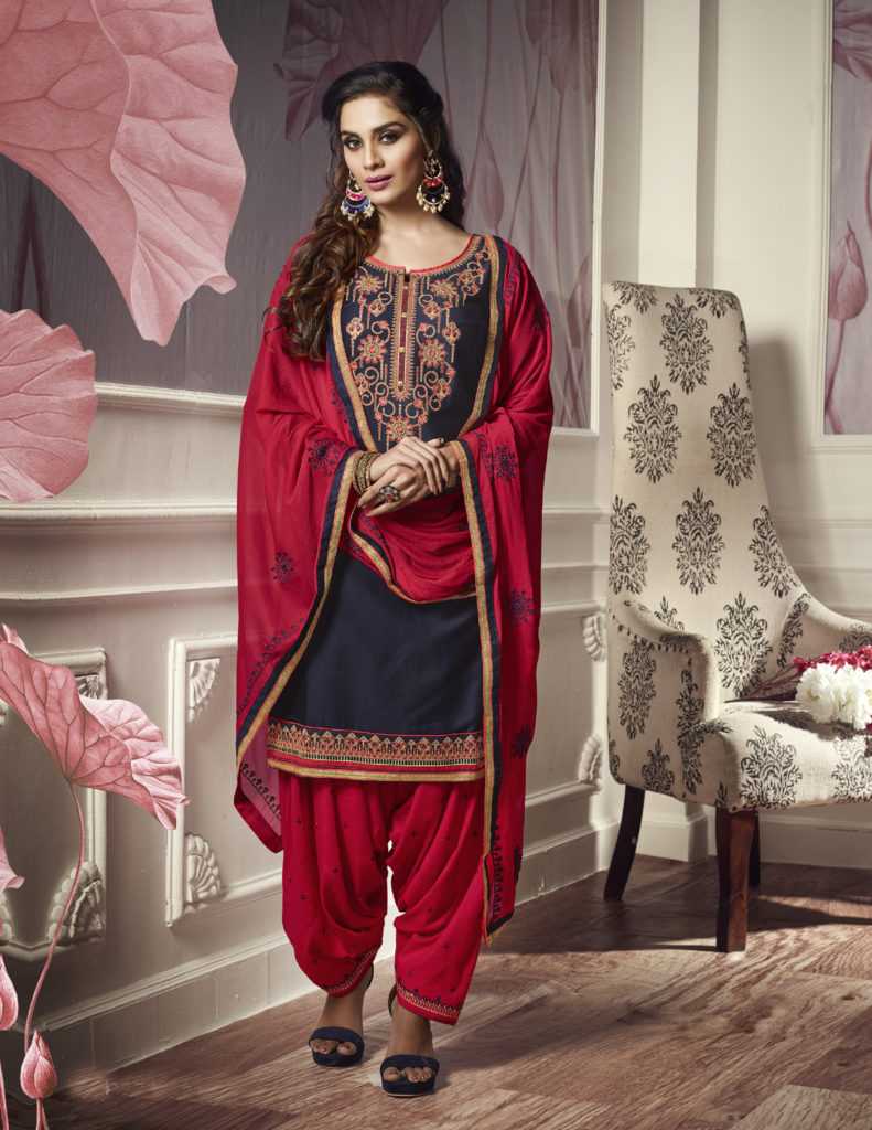 Best Punjabi salwar suit For Eid Festival
