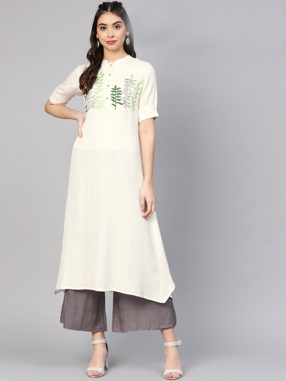 ladies wear long cotton kurtis online