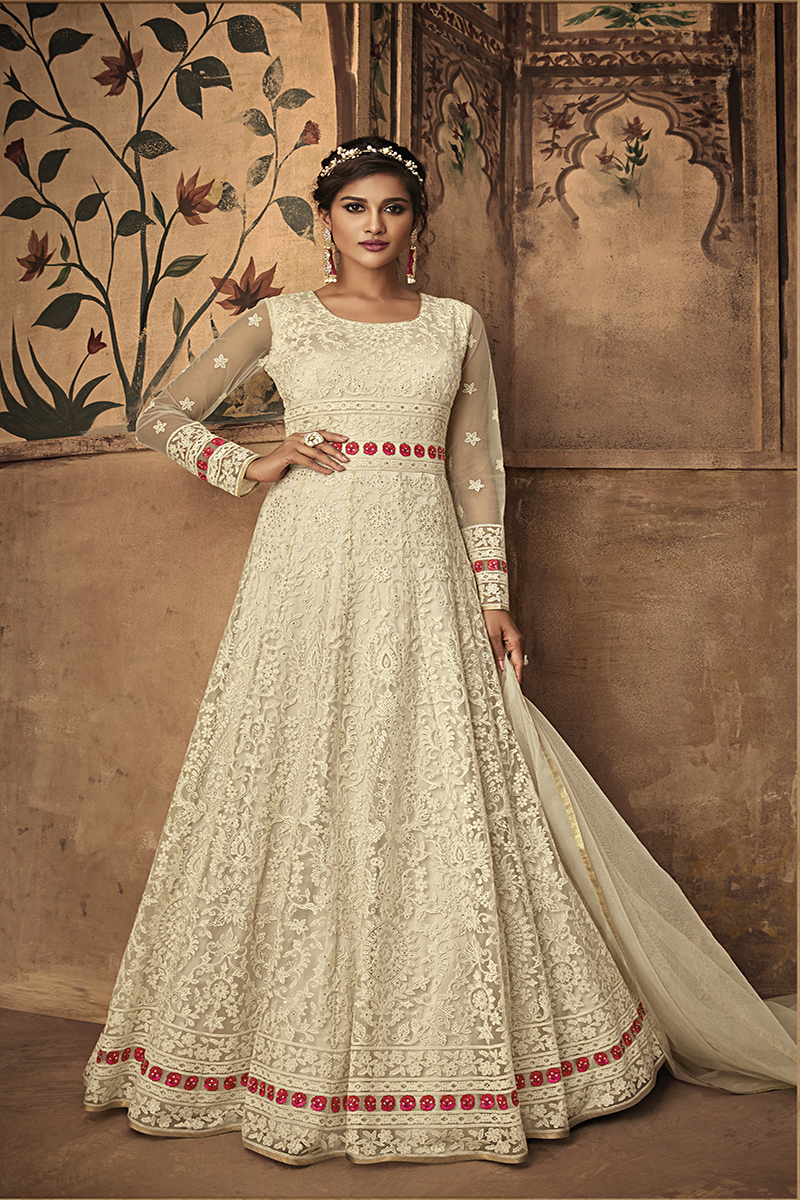 Anarkali Dress are Evergreen style in fashion, You can wear anarkali in every occasion. It Give veri chic yet traditional look.