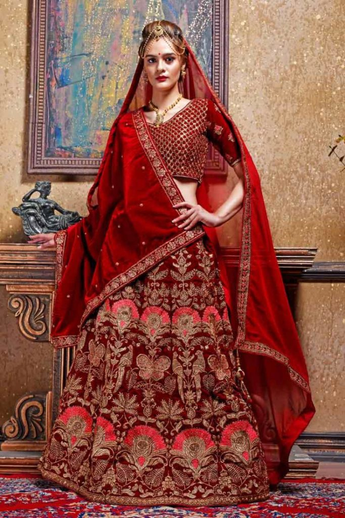 Indian Wedding Lehengas Choli Collection