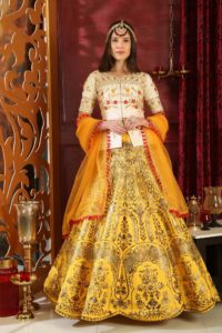 Alluring Yellow Color Chaniya Choli