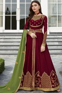 Georgette Party Wear Anarkali Salwar Kameez