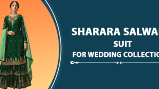 Designer Sharara Salwar Suit For Wedding