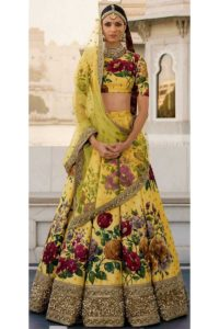 Fine Art Silk Bridal Lehenga Choli
