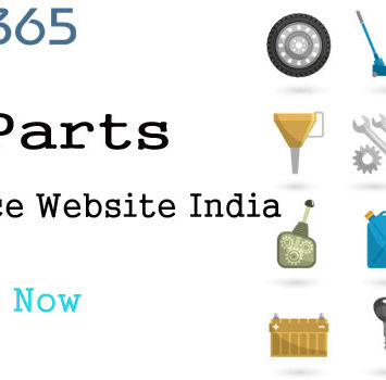 Car Parts Online Shopping E-Commerce Website India