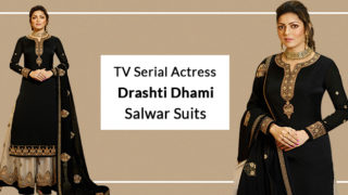 Tv Serial Actress Drashti Dhami Madhubala Salwar Suits Online