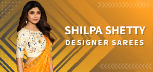 Bollywood Actress Shilpa Shetty Saree Collection