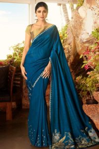 New Model Fancy Sarees In Soft Silk Fabric