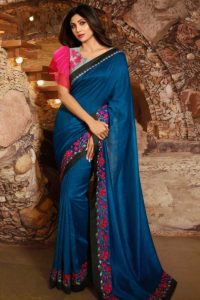 Bollywood Celebrity Shilpa Shetty Saree Collection