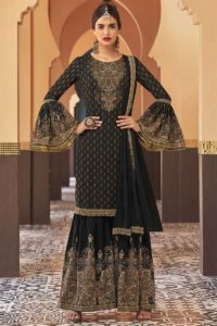 Georgette Sharara Dress